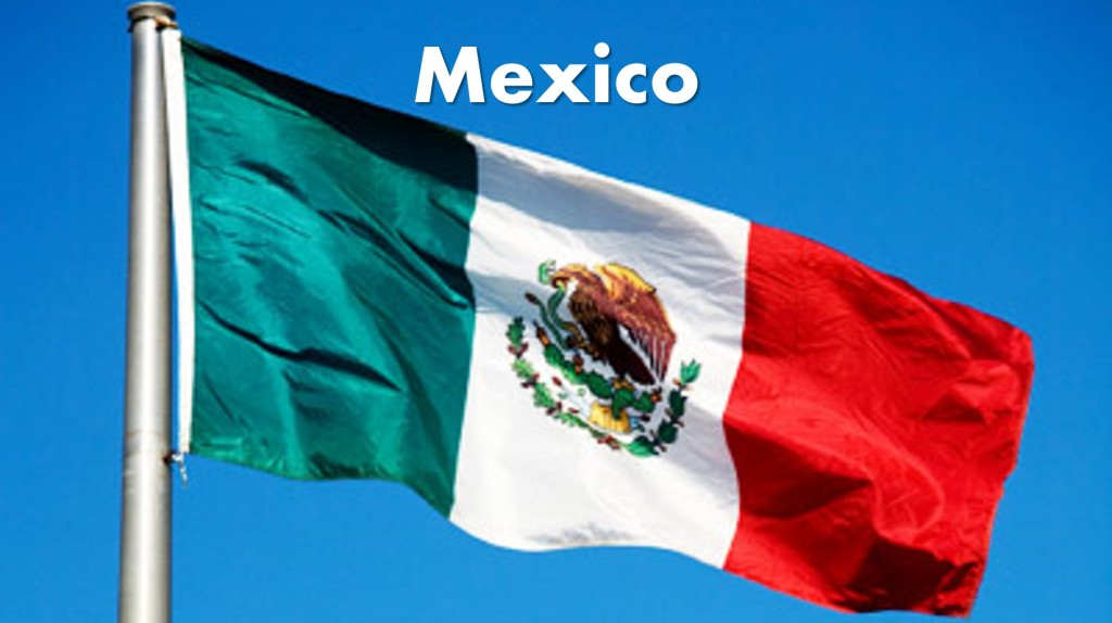 Mexico Destination Main Image Flag Photo