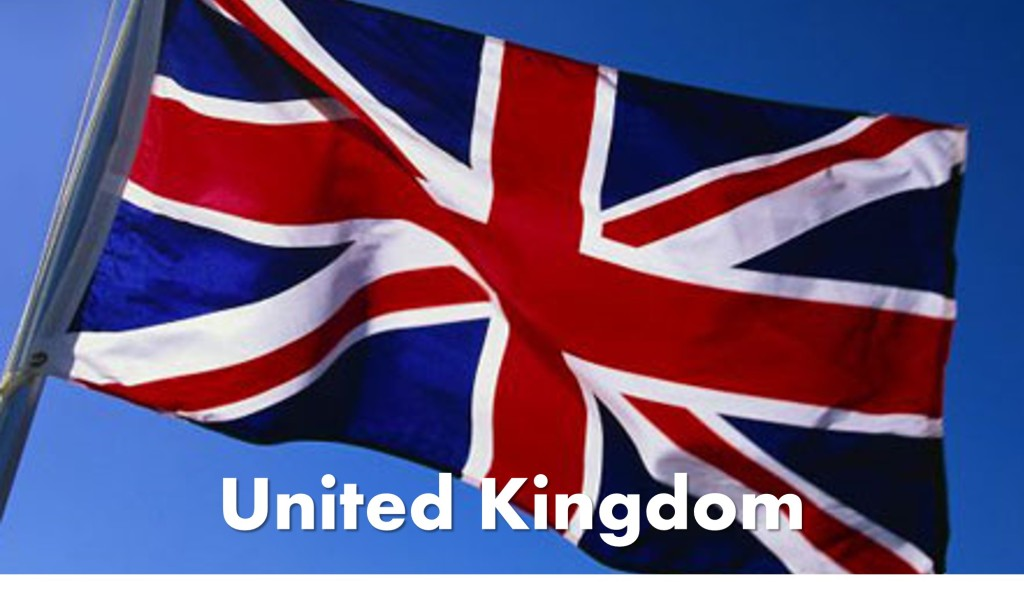 United Kingdom Destinations Flag Photo