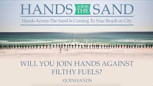 hands across the sands